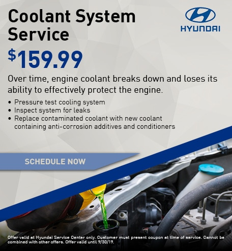 Coolant System Service - $159.99