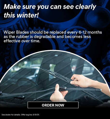 Make sure you can see clearly this winter!