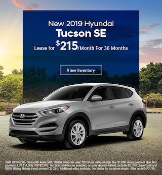 2019 Hyundai Tucson Lease - March