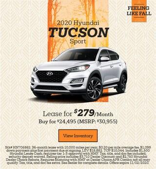 New 2020 Hyundai Tucson - October