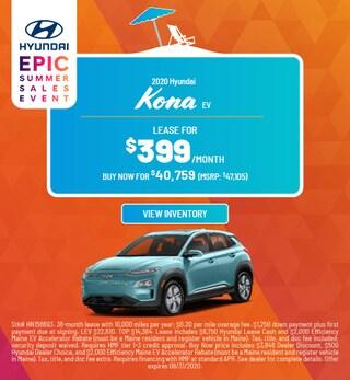 2020 Hyundai Kona EV - August