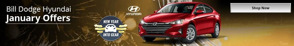 Bill Dodge Hyundai January Offers