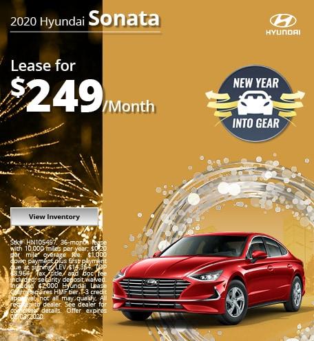 2020 Hyundai Sonata - Jan