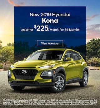 2019 Hyundai Kona Lease - March