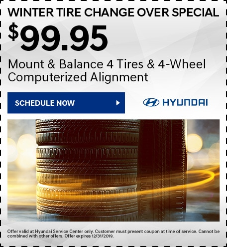 $99.95 Winter Tire Change Over Special