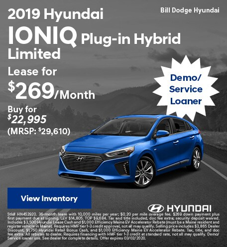 2019 Hyundai Ioniq Plug-in Hybrid Limited - Feb
