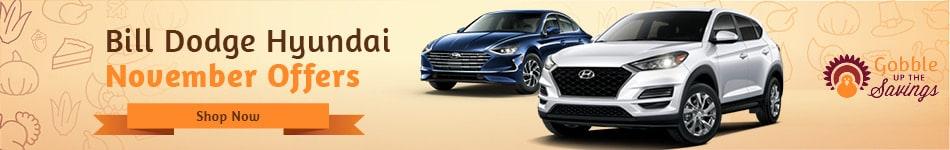 Bill Dodge Hyundai November Offers