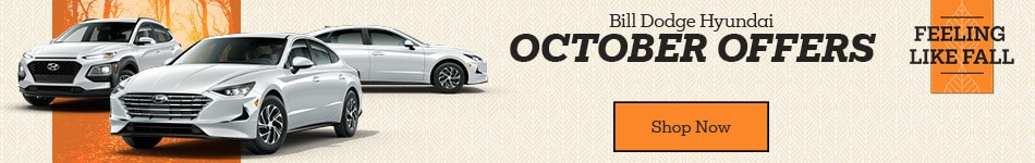 Bill Dodge Hyundai October Offers