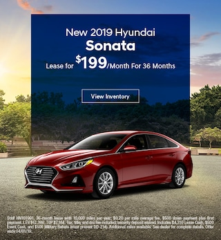 2019 Hyundai Sonata Lease - March