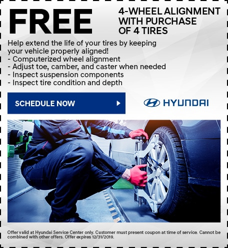 FREE 4-Wheel Alignment With Purchase of 4 Tires
