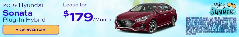 2019 Hyundai Sonata Plug-In Hybrid - June