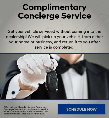 Complimentary Concierge Service