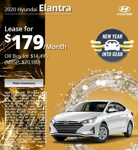 2020 Hyundai Elantra - Jan