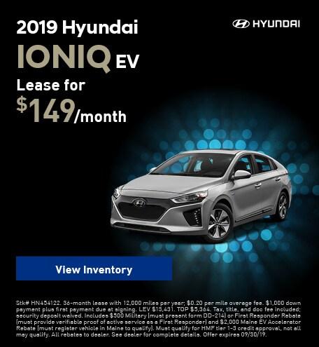 New 2019 Hyundai Ioniq EV - Sept '19