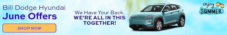 Bill Dodge Hyundai June Offers