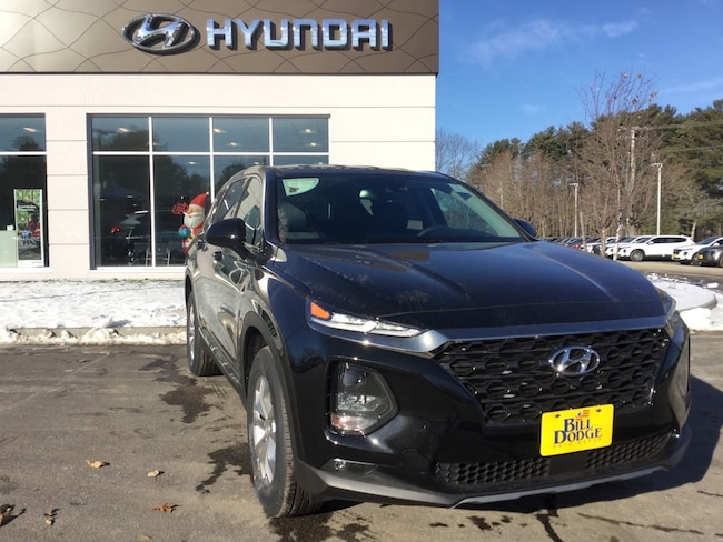 New 2019 Hyundai Santa Fe SEL 2.4 SUV for sale or lease in Brunswick, ME