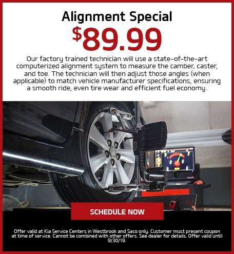 Alignment Special - $89.99 Off