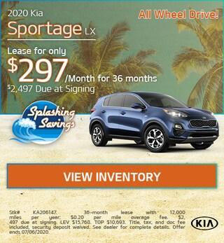 New 2020 Kia Sportage LX  - June