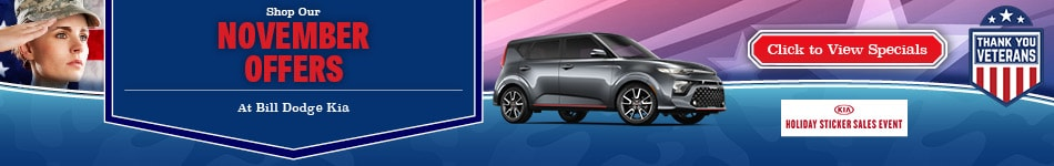 Bill Dodge Kia November Offers