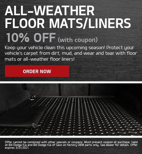 All-Weather Floor Mats/Liners