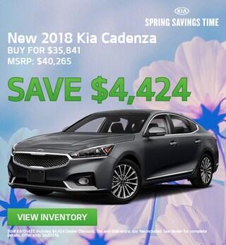 New 2018 Kia Cadenza