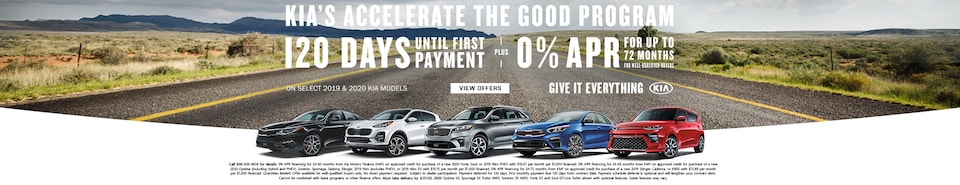 Kia's Accelerate The Good Program