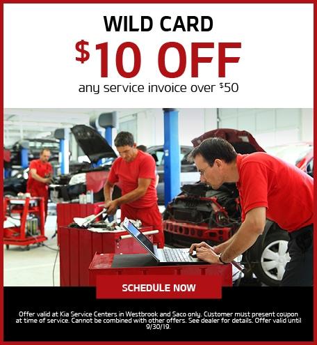 Wild Card - $10 Off