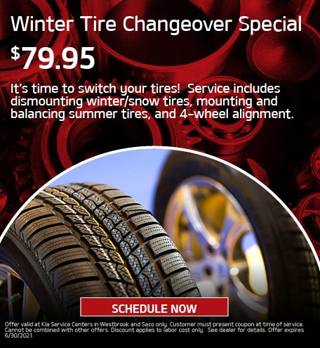 Winter Tire Changeover Special