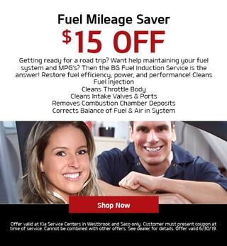 Fuel Mileage Saver Special