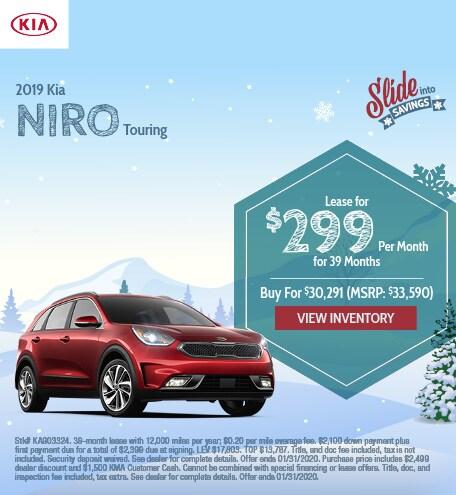 2019 Kia Niro Touring - Jan