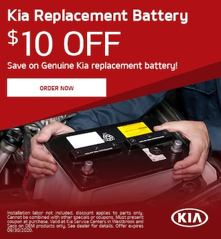 Kia Replacement Battery - July