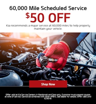 60,000 Mile Scheduled Service Special