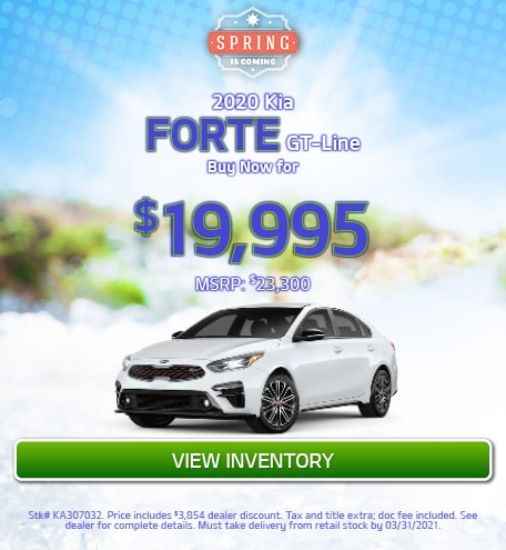 2020 Kia Forte GT-Line - March