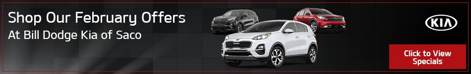 Shop Our February Offers at Bill Dodge Kia of Saco