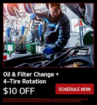 Oil & Filter Change + 4-Tire Rotation
