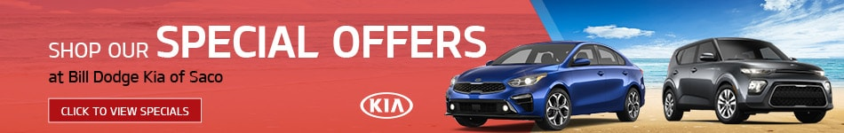 Shop Our Special Offers at Bill Dodge Kia of Saco
