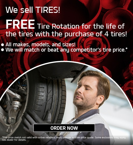 We sell TIRES!