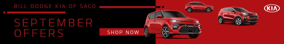 Bill Dodge Kia of Saco September Offers