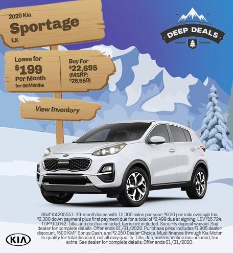 2020 Kia Sportage LX - Jan
