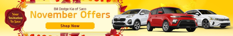 Bill Dodge Kia of Saco November Offers