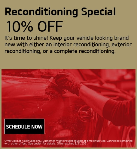 Reconditioning Special