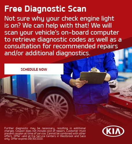 Free Diagnostic Scan - July