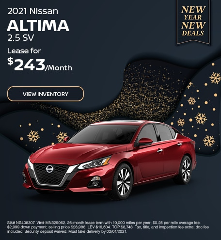 2021 Nissan Altima 2.5 SV - Jan