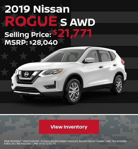 New 2019 Nissan Rogue - November