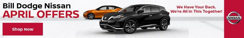 Bill Dodge Nissan April Offers