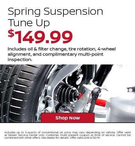 Spring Suspension Tune Up