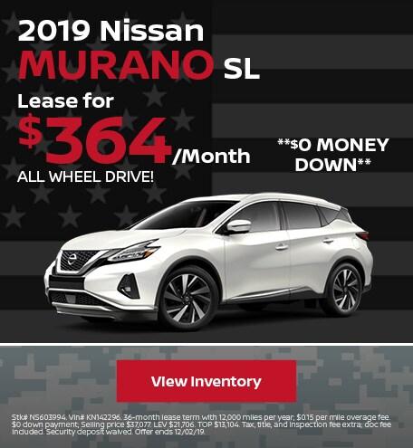 New 2019 Nissan Murano - November