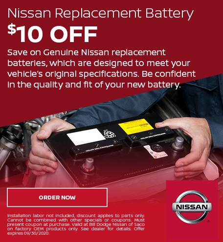 Nissan Replacement Battery - July