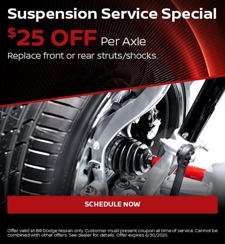 Suspension Service Special