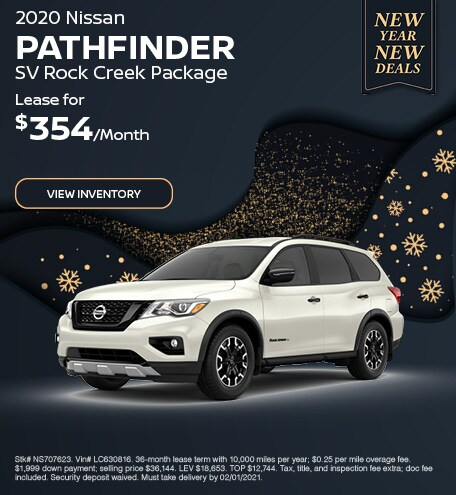 2020 Nissan Pathfinder SV Rock Creek Package - Jan